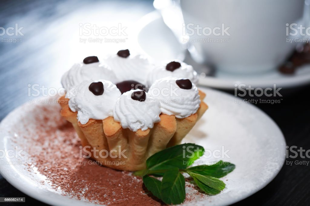 Cake And Coffee foto stock royalty-free