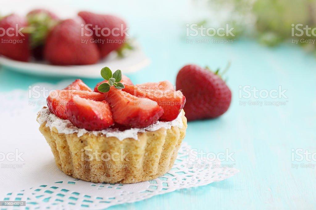 cake basket royalty-free stock photo
