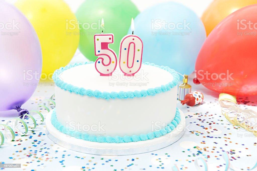 Torte anlässlich 50. Geburtstag – Foto