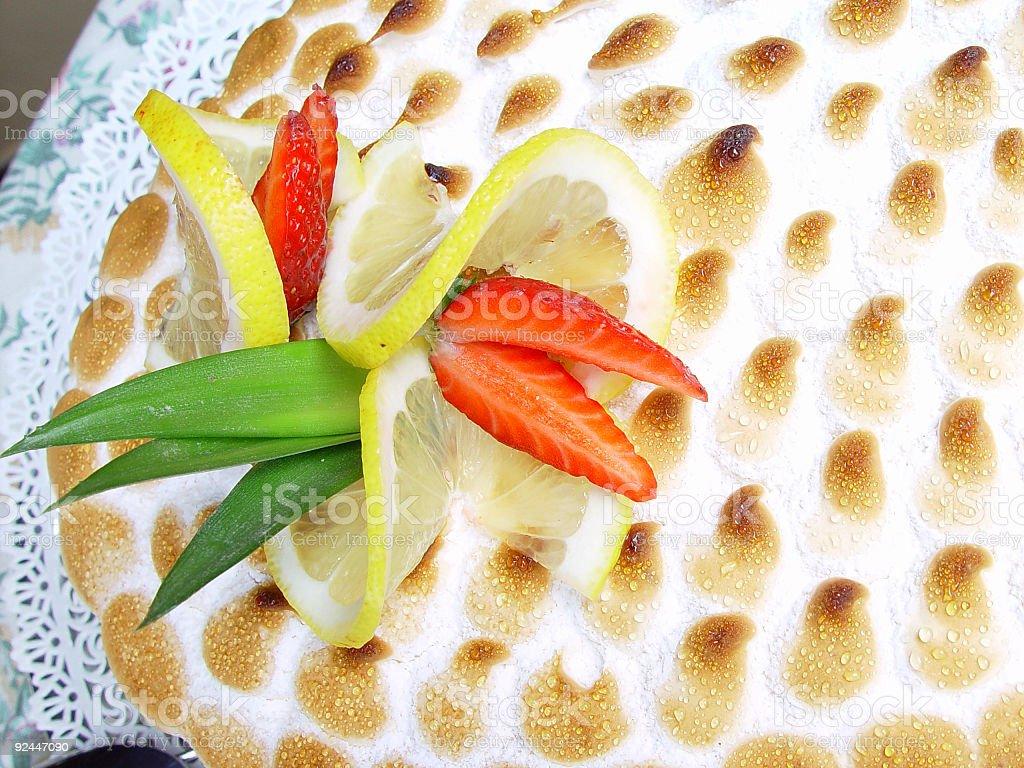 Cake decoration detail royalty-free stock photo