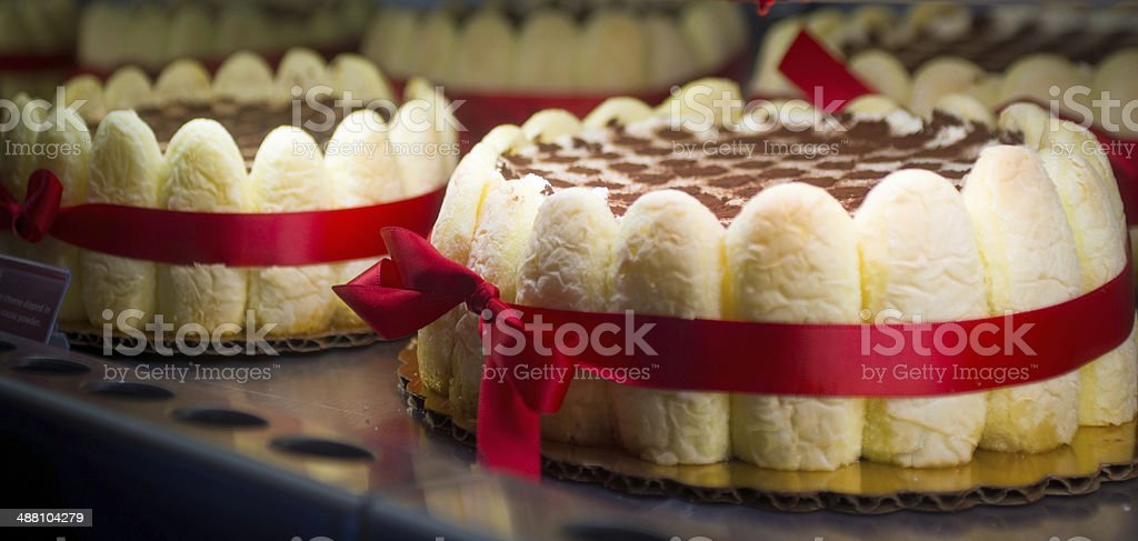 Présentation de gâteau - Photo