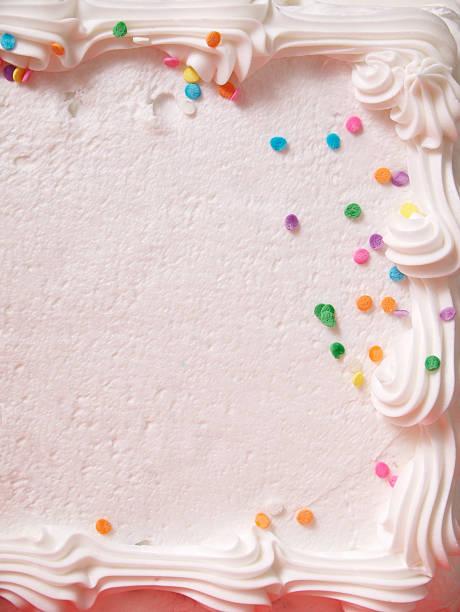 gros plan de gâteau à la crème - glaçage photos et images de collection