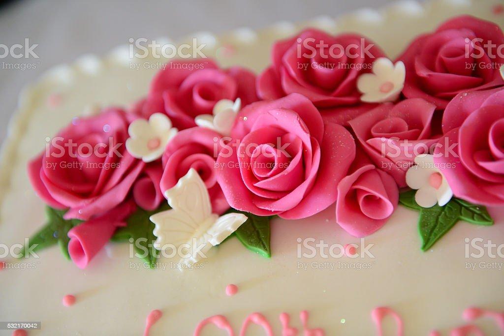 Cake Icing stock photo