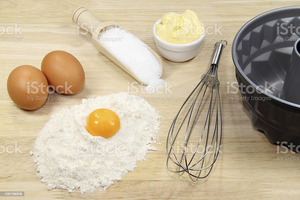 Cake mixture stock photo