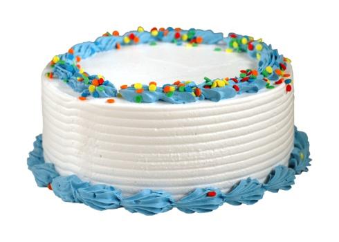 A birthday icecream cake
