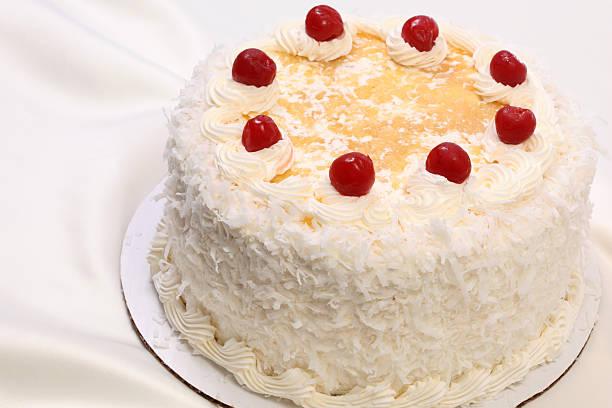 cake - ananaskuchen stock-fotos und bilder