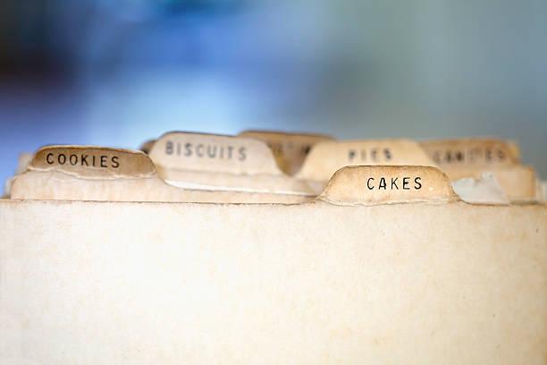 Cake Recipes stock photo