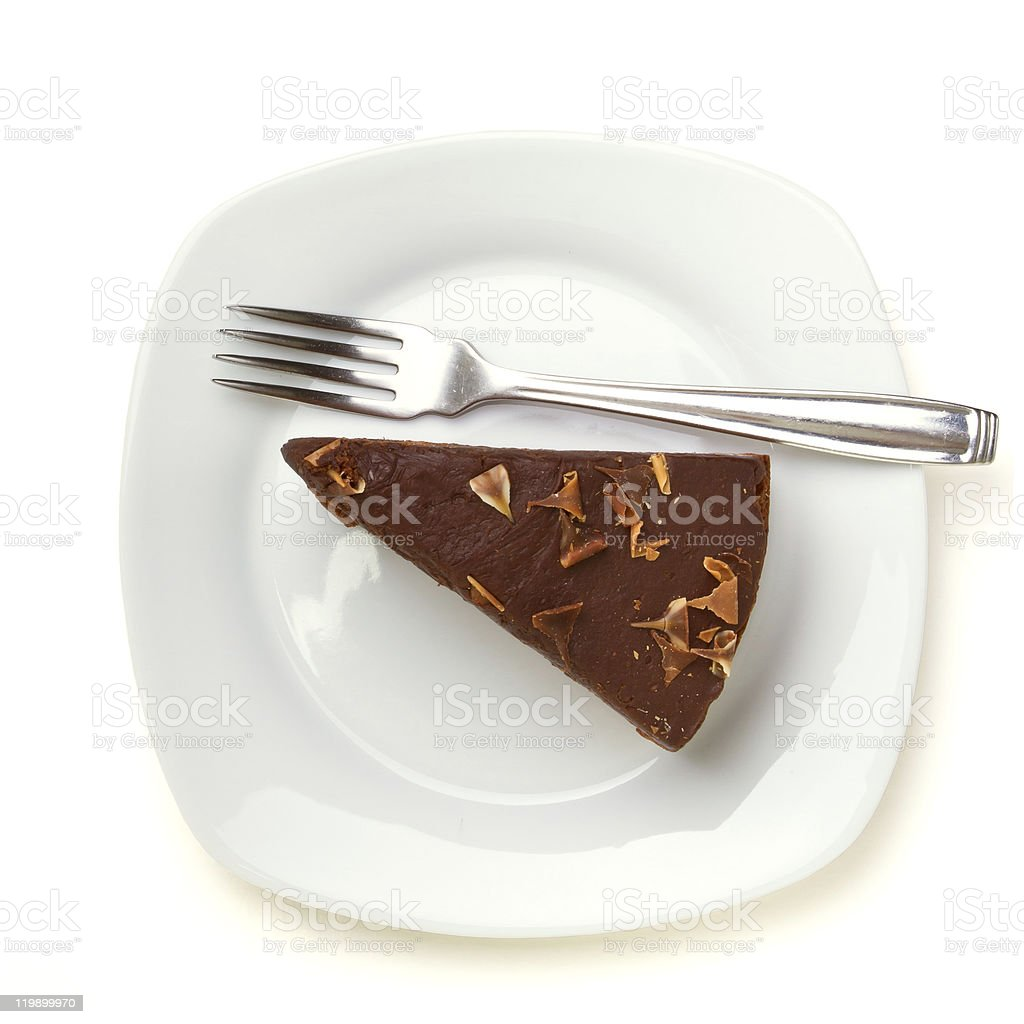 Cake Slice royalty-free stock photo