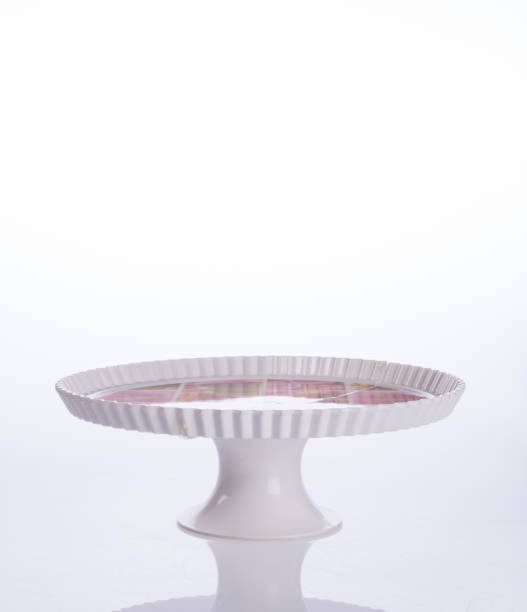 cake stand or dessert stand on a backgeound cake stand or dessert stand on a backgeound cakestand stock pictures, royalty-free photos & images