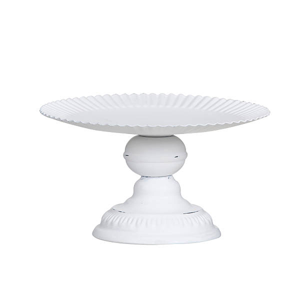Cake stand Cake stand isolated on white cakestand stock pictures, royalty-free photos & images