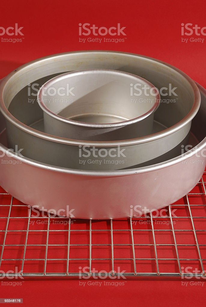Cake Tins royalty-free stock photo