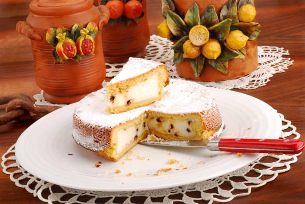 蛋糕烤芝士,西西里人 cassata - cassata 個照片及圖片檔