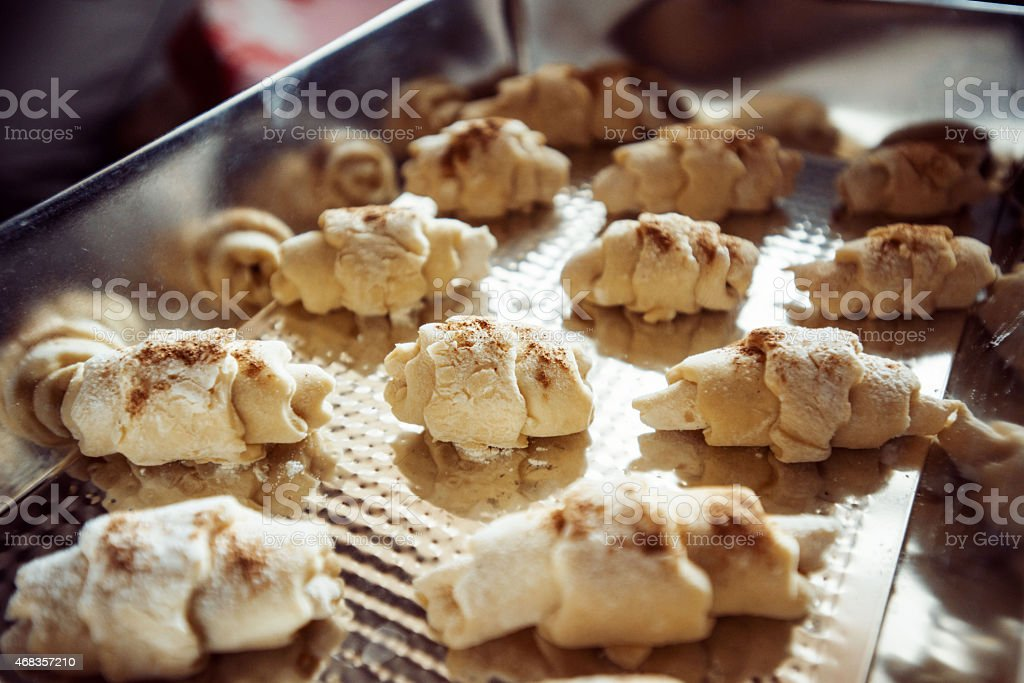 cake with cinnamon royalty-free stock photo
