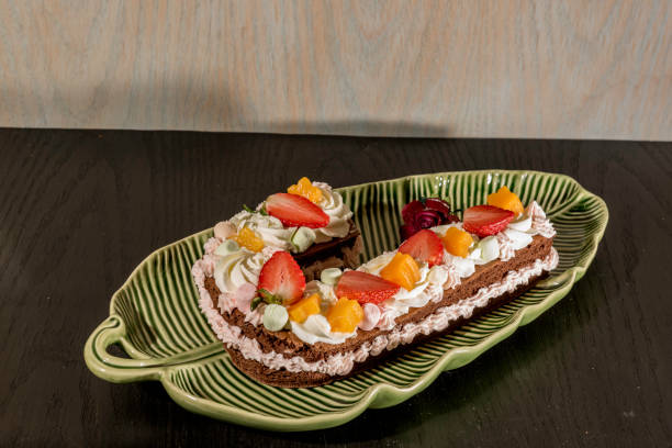Royalty free letter j pictures images and stock photos istock cake with cream and fruit stock photo altavistaventures Image collections