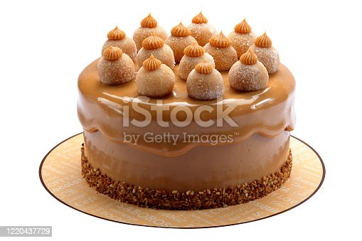 istock cake with sweet milk 1220437729