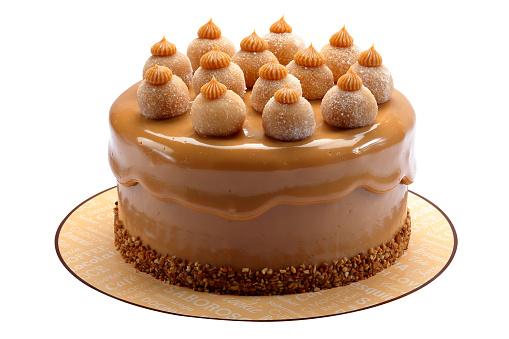 cake with sweet milk