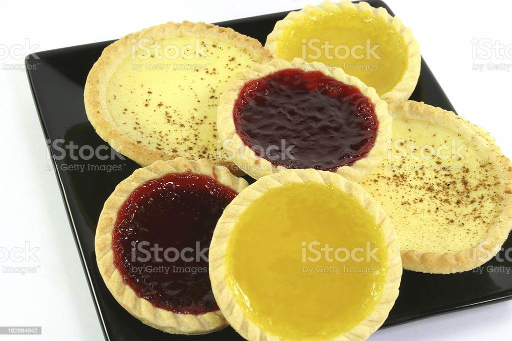 cakes and tarts royalty-free stock photo