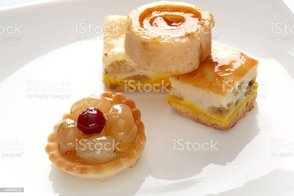 Cakes royalty-free stock photo
