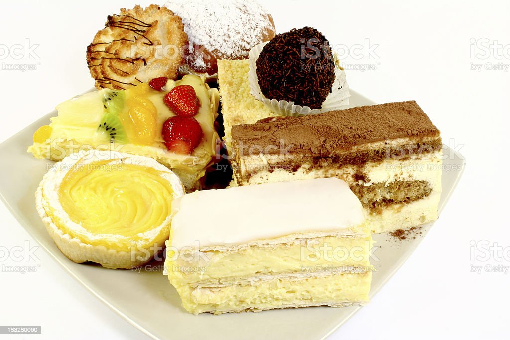 cakes - Royalty-free Baked Pastry Item Stock Photo
