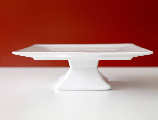 Cakestand Empty chic cakestand on a table cakestand stock pictures, royalty-free photos & images