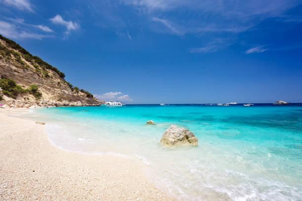 Cala Biriola in Sardinia, Italy stock photo