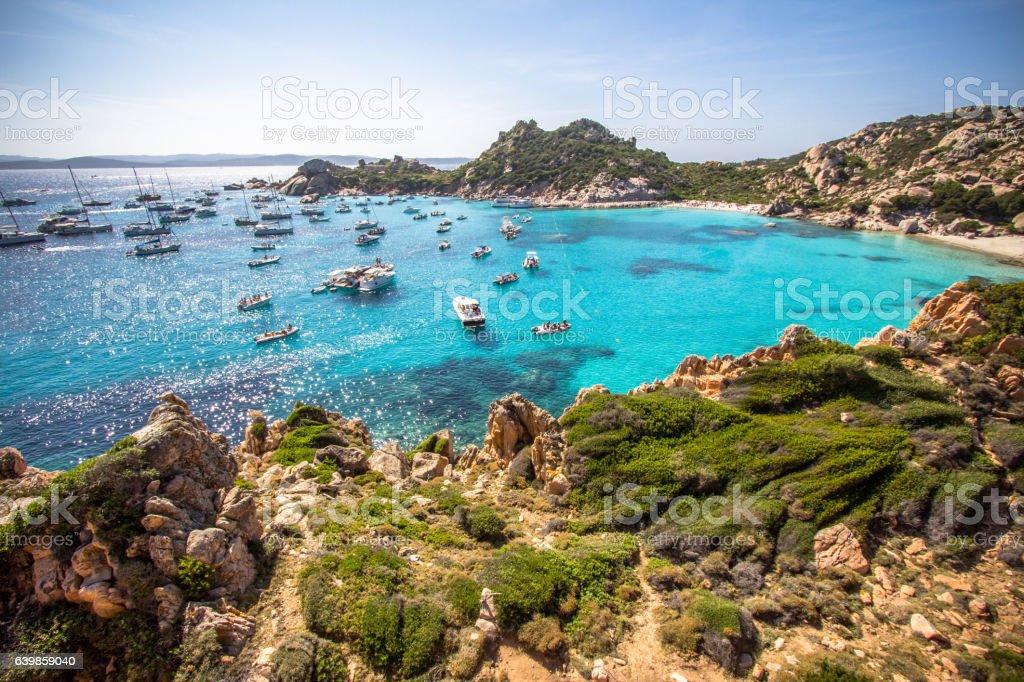 Cala Corsara, Sardinia island, Italy stock photo