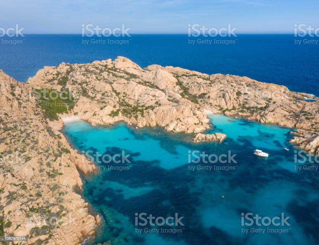 Cala Coticcio Beach, Insel Caprera, Sardinien, Italien – Foto