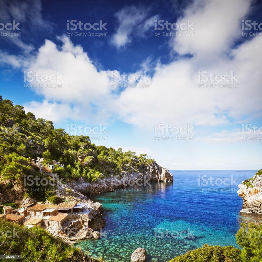 Cala de Deia - Majorca royalty-free stock photo