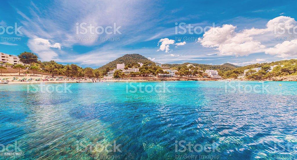 Cala de Portinatx - Ibiza stock photo