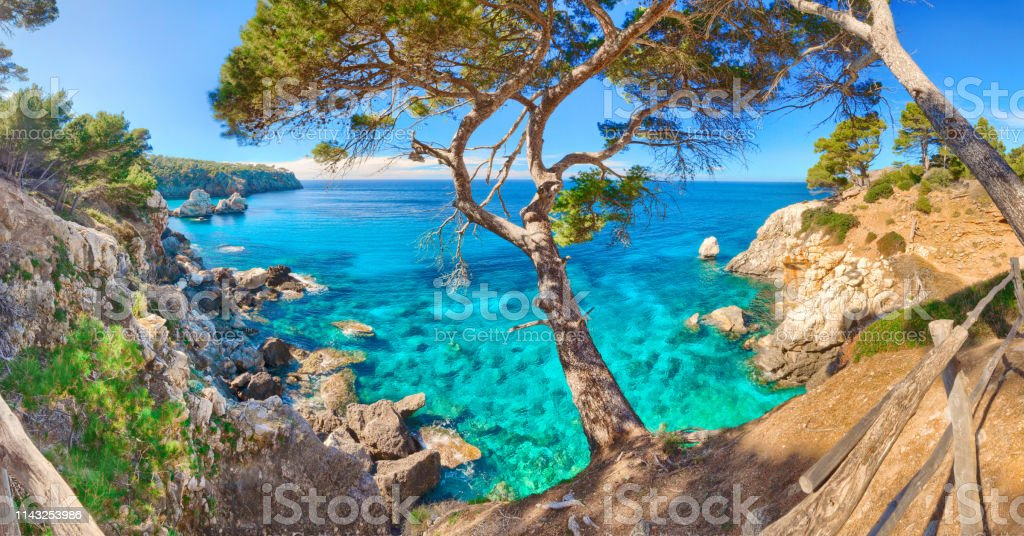 Cala Deia Mallorca Mallorca balste Spanien Mittelmeer – Foto