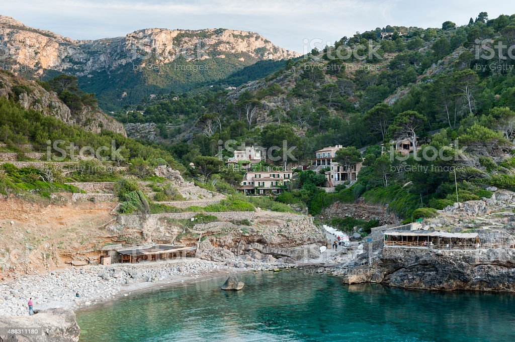 Cala Deia, Mallorca stock photo