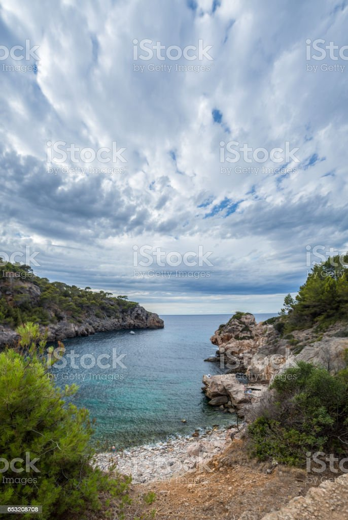 Cala Deia - Mallorca stock photo