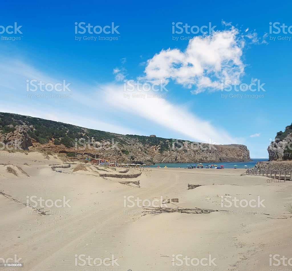Cala Domestica stock photo