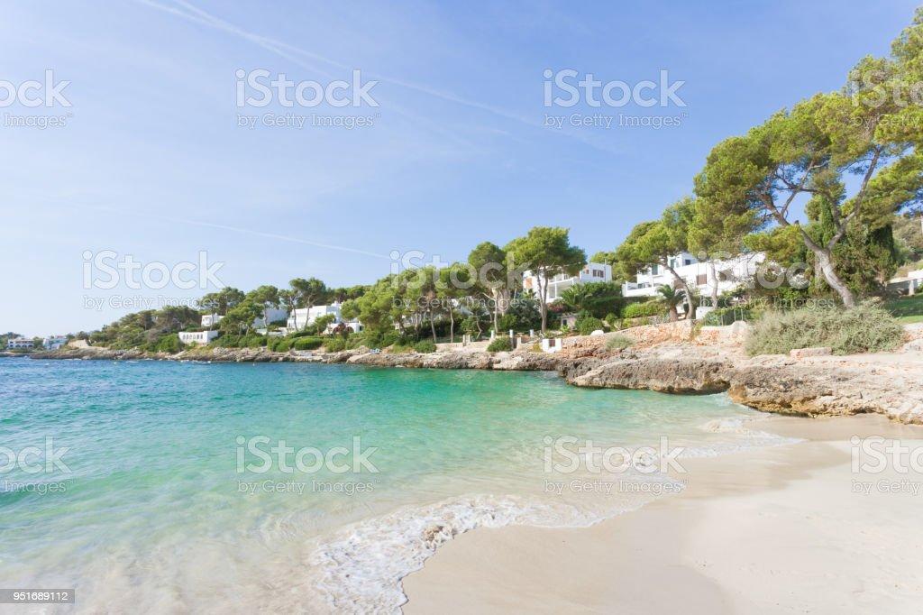 Cala d ' or, Mallorca - glatte Brandung an den Strand von Cala d ' or – Foto