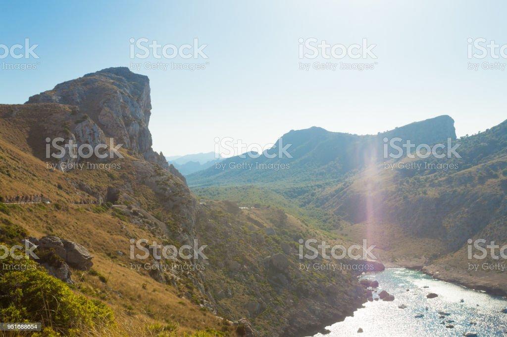 Cala Figuera de Formentor, Mallorca - fast unberührte Wildnis in den Bergen von Formentor – Foto