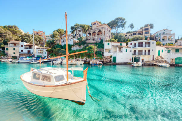 Cala Figuera, Mallorca, Spain stock photo