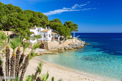 istock Cala Gat at Ratjada, Mallorca - beautiful beach and coast 576912916