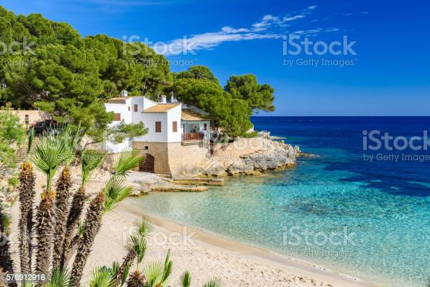 Cala Gat At Ratjada Mallorca Beautiful Beach And Coast 경관에 대한 스톡 사진 및 기타 이미지