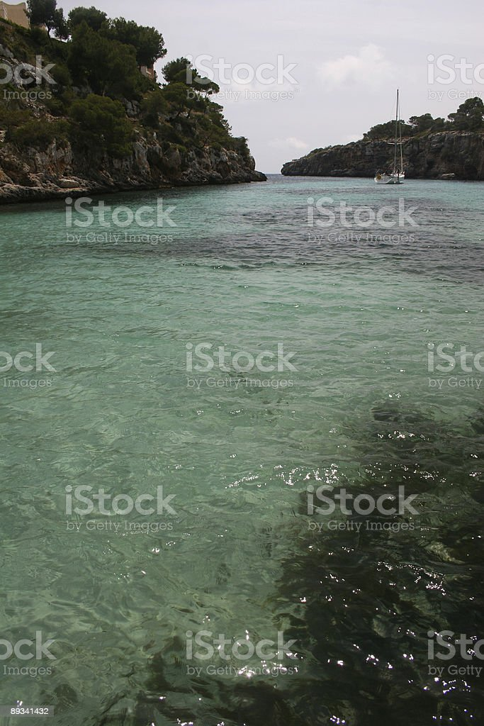 Cala Pi, Mallorca royalty-free stock photo