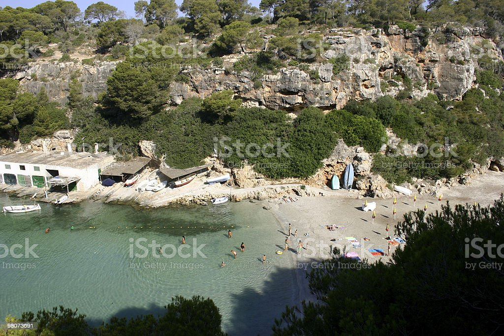Cala Pi royalty-free stock photo