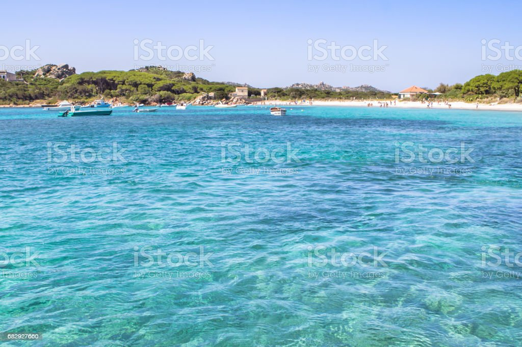 Cala Santa Maria, Sardinia, Italy royalty-free stock photo