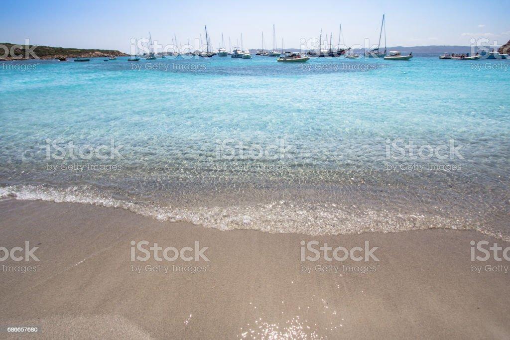 Cala Santa Maria, Sardinia, Italy royalty-free stock photo