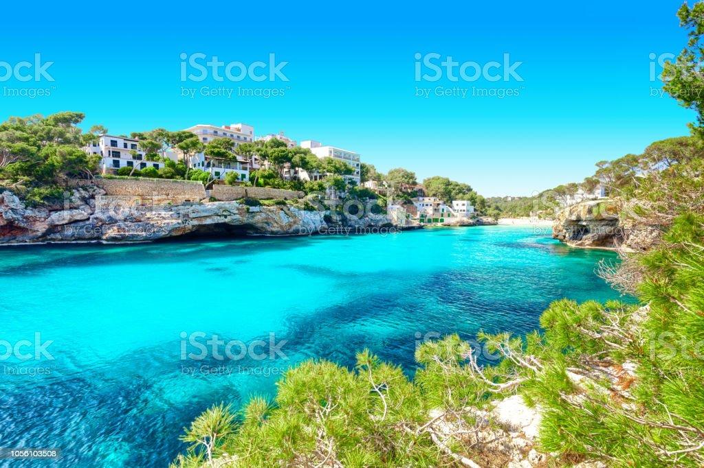 Cala Santanyi-Mallorca-Spanien-Küste – Foto