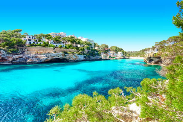 Côte de Cala Santanyi Mallorca Espagne - Photo