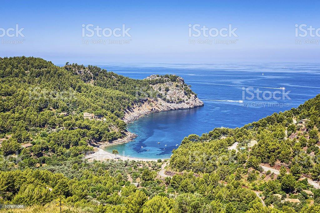 Cala Tuent - Escorca, Majorca, Spain royalty-free stock photo