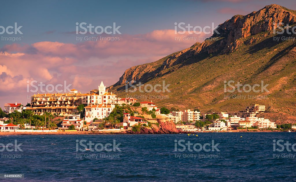 Calabardina village III Murcia, Spain stock photo