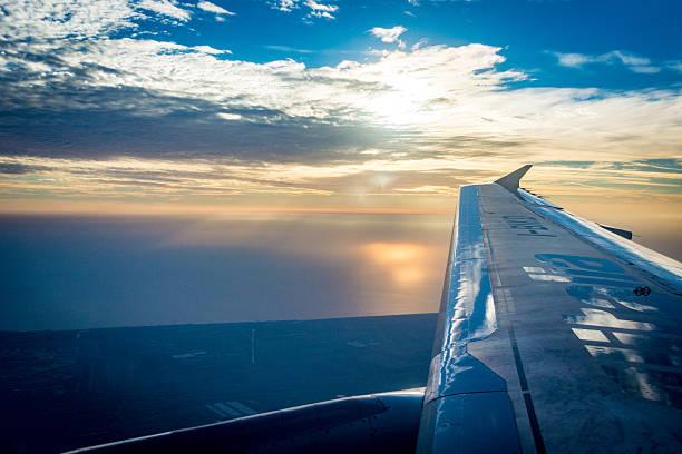 Calabria on the wings of Alitalia - foto de acervo