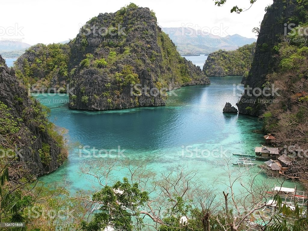Calamian Islands royalty-free stock photo