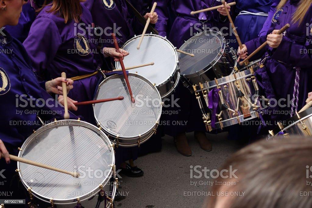 calanda aragon ruta del tambor procession semana santa easter drums spain