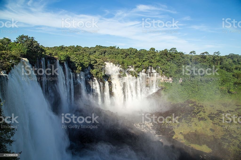 Calandula Falls stock photo